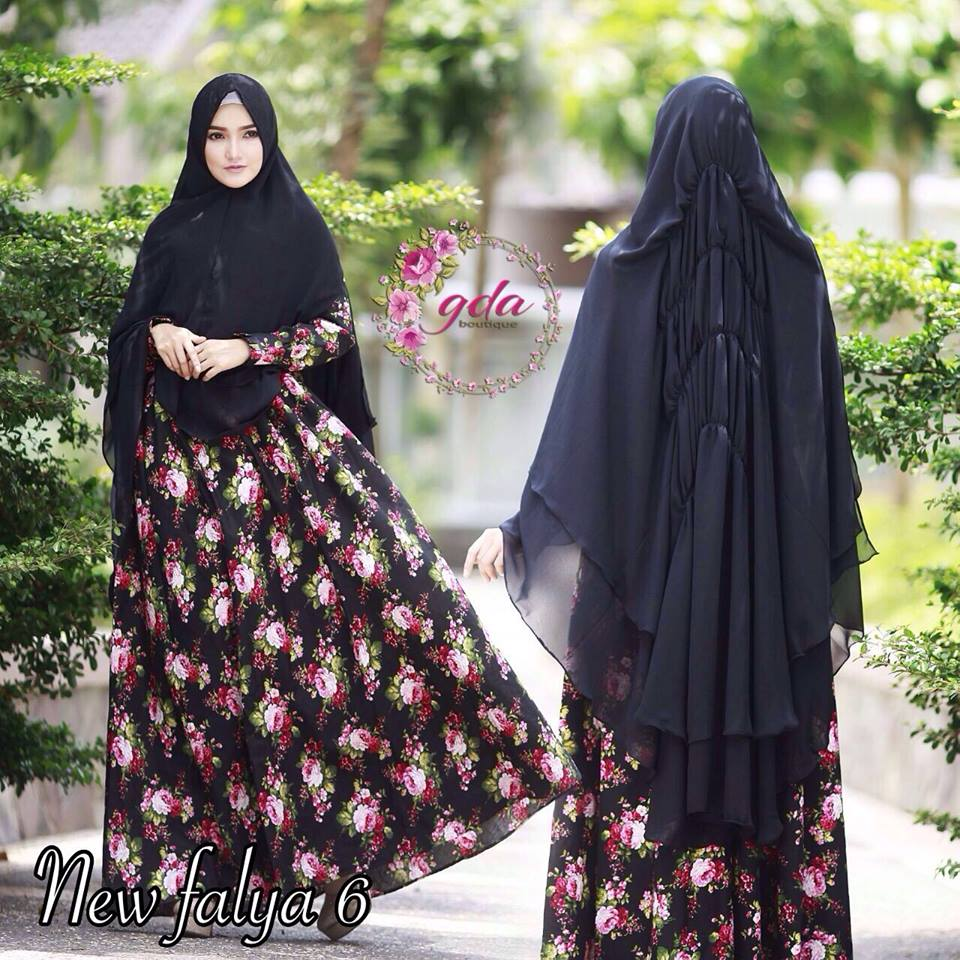 New Falya 6 by GDA Boutique E.HITAM
