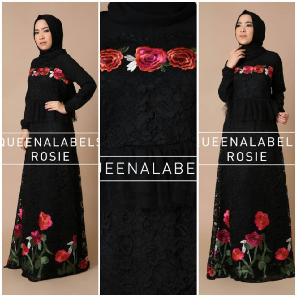 New Rosie by Queenalabels Hitam