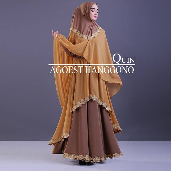 QUIN by AGOEST HANGGONO COKLAT