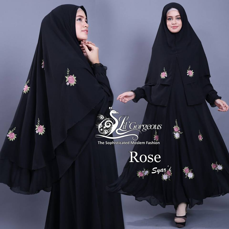 Rose Syar'i by Lil Gorgeous Hitam