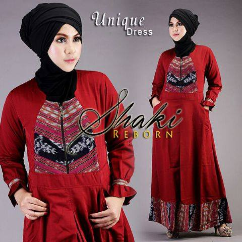 Unique Dress by Shaki Merah