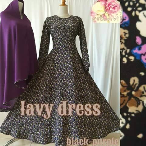 lavy dress by Uva butik Black