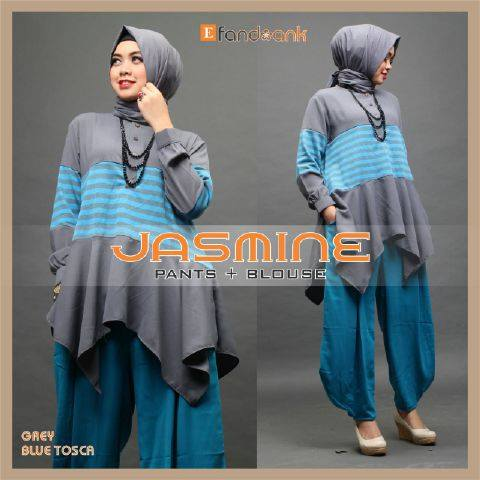Jasmine GREY BLUE TOSCA by Efandoank