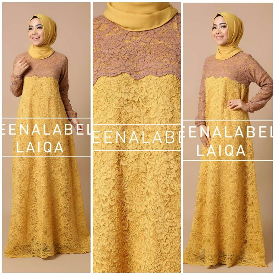 Laiqa by Queenalabels kuning