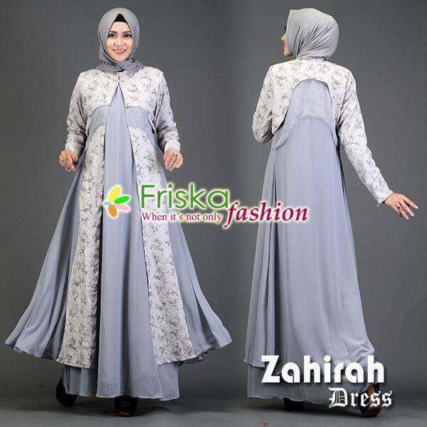 Zahirah DRESS GREY