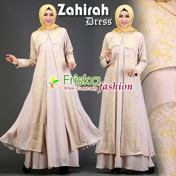 Zahirah DRESS cream