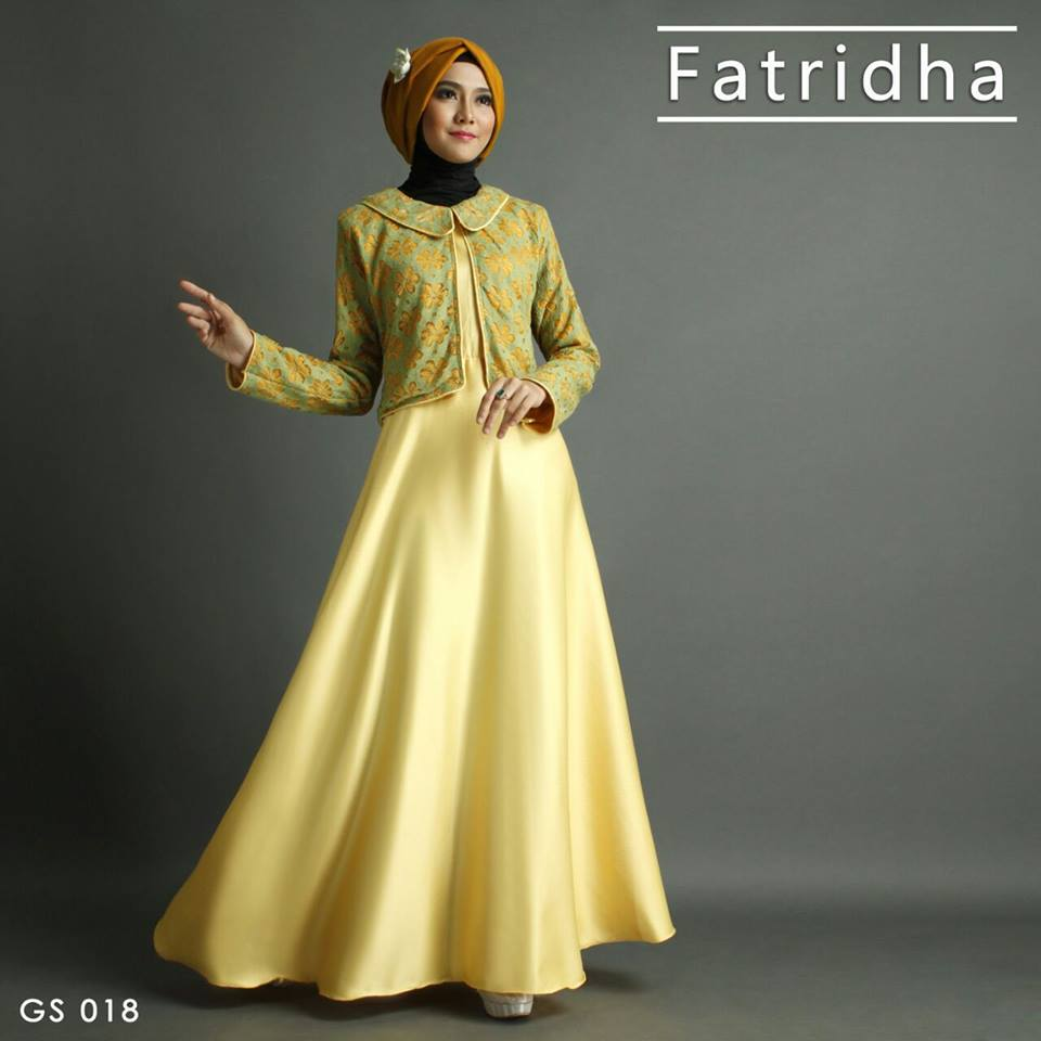FATRIDHA GS 018 KUNING by SHIRAZ