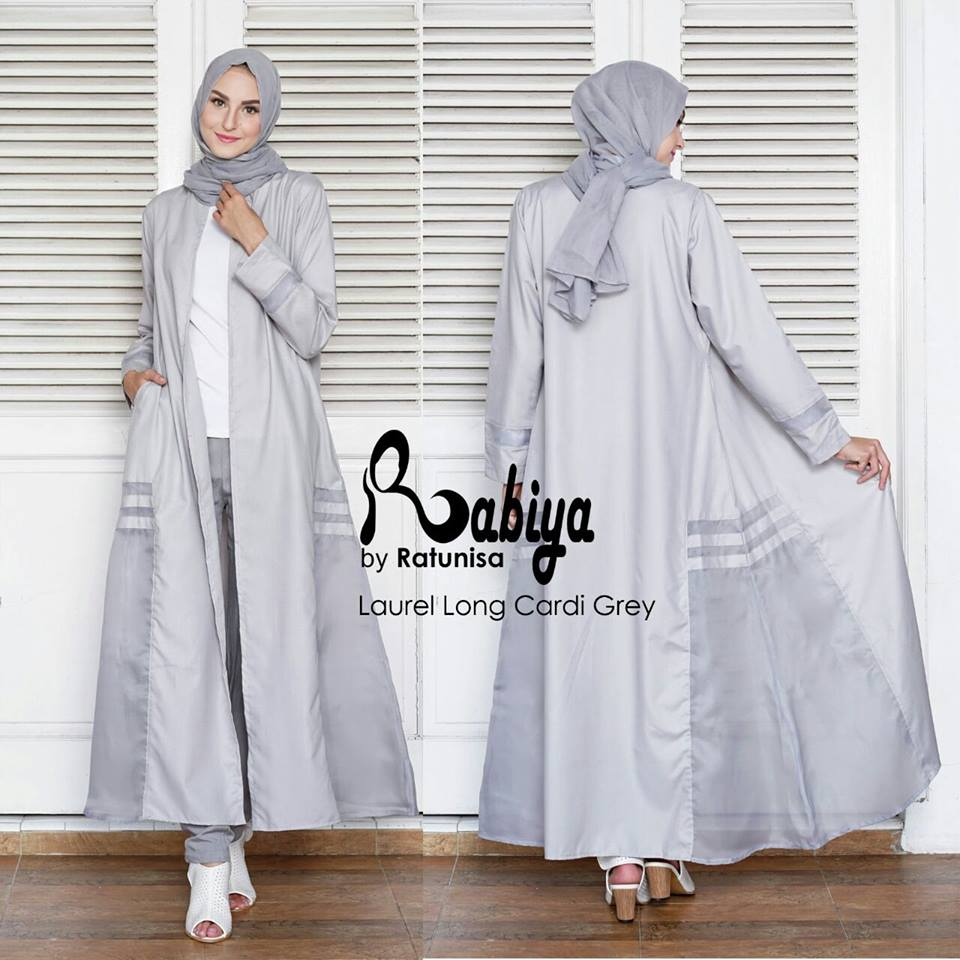 Laurel long cardi Grey