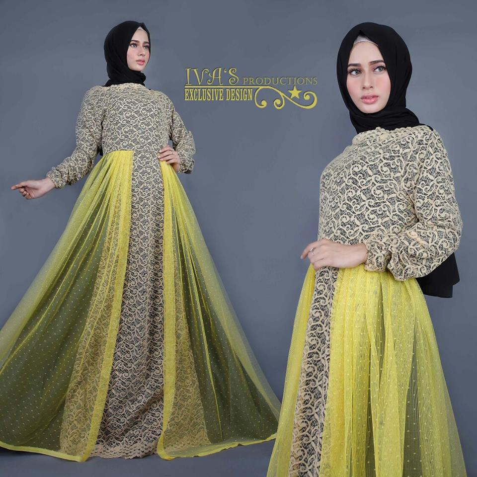 Lyra dress by IVA'S kuning