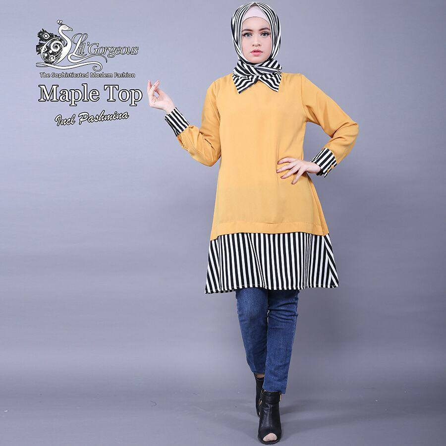 Maple Top KUNING