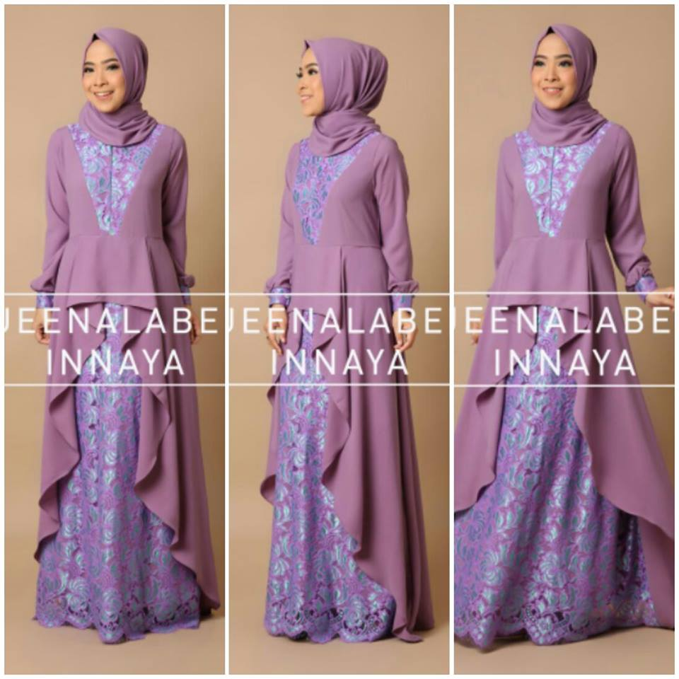 New Inaya Dress seri A NO 5 by Queenalabels