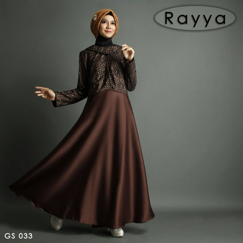 RAYYA GS 033 COKLAT TUA by Shiraaz