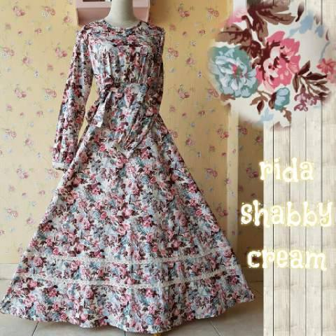 Rida Dress Cream
