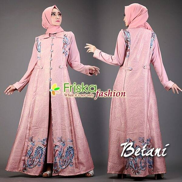 Betani dress by friska dusty pink