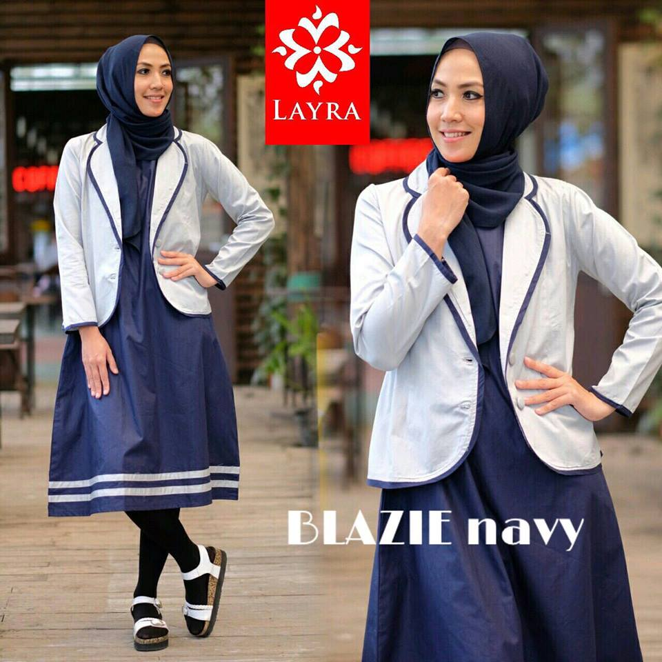 Blazie tunique by Layra Navy