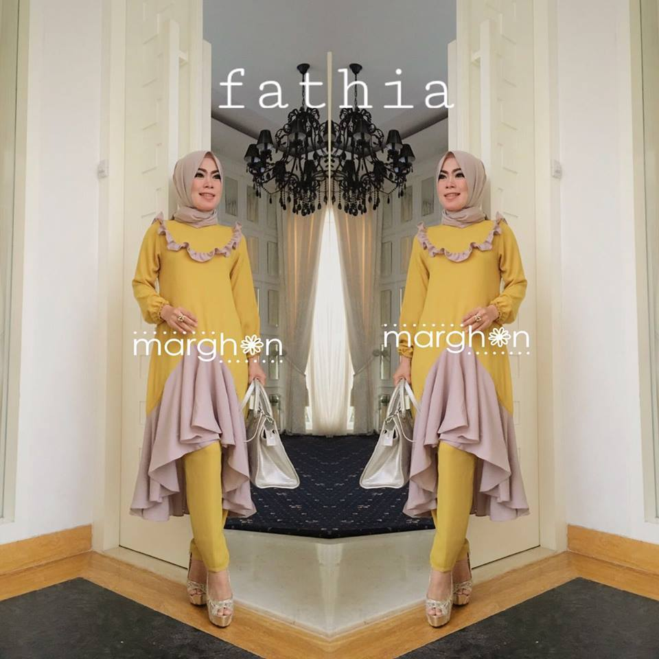 Fathia Set KUNING by Marghon