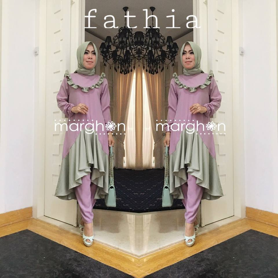 Fathia Set UNGU by Marghon