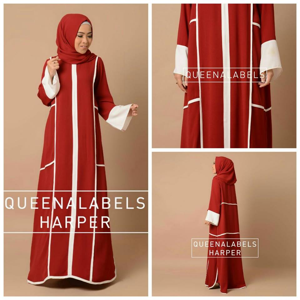 HARPER MERAH by QUEENALABELS