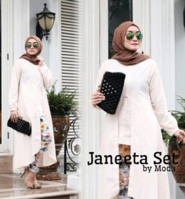 Janeeta Set BABY Peach by MODA