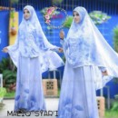Maliq Syari A.BIRU By Gda Boutique