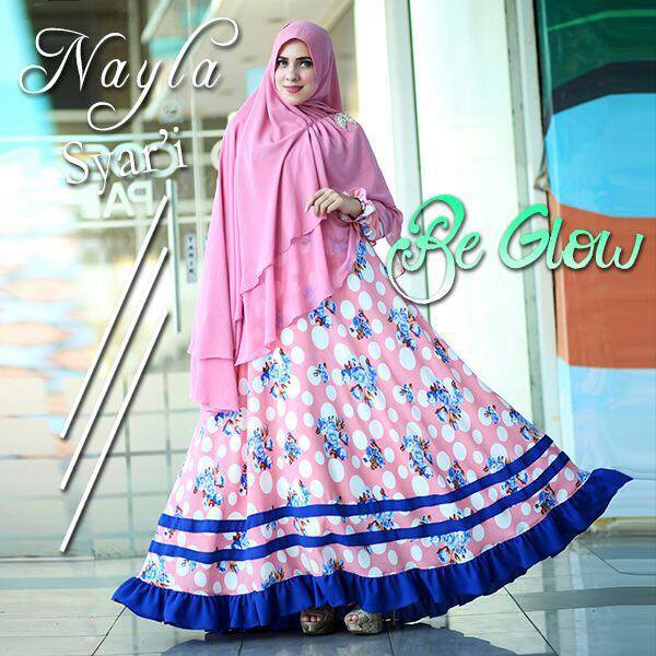 Nayla syar'ie Pink by Be Glow