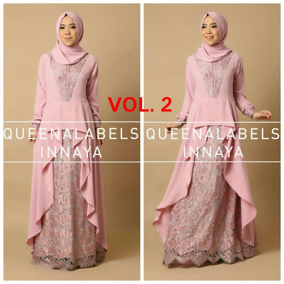 New Inaya Dress seri B NO 4 by Queenalabels