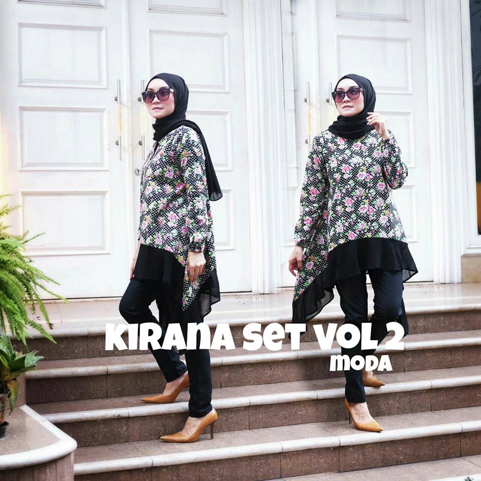 New  Kirana Set Vol II Hitam by MODA