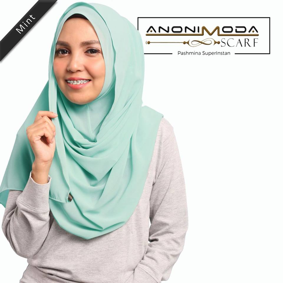 Pashmina New Superinstan Mint  by Anonimoda
