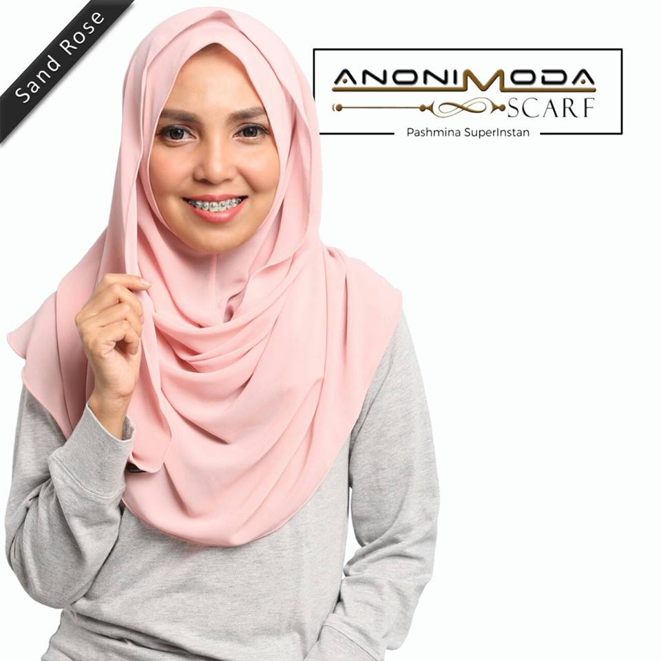 Pashmina New Superinstan Sand Rose  by Anonimoda