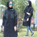 Quinza Tunik HITAM by RAYNA