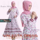 VALESTA DRESS by ORI NAURA BROKEN WHITE