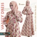 VANILY DRESS Brown by ORI NAURA