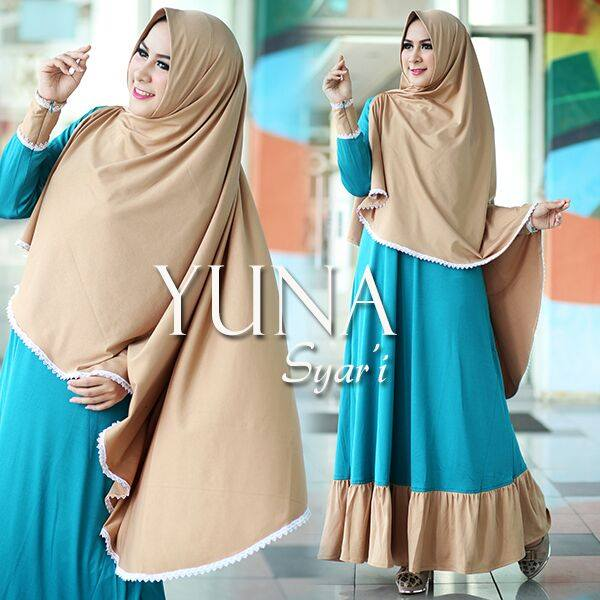 YUNA syarie BIRU by GS