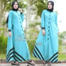 ALVIDA Basic Dress BIRU by BUNGAS