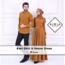 axel-shirt-and-hanne-dress-brown