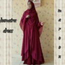 humaira-dress-maroon