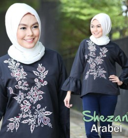 arabel-blouse-hitam-by-shezan