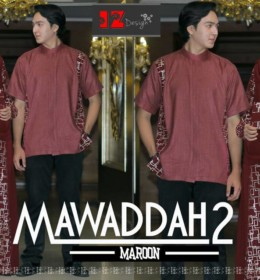 mawaddah2-couple-syari-maroon-by-iz-design