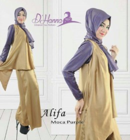 Alifa MOCCA PURPLE by D'Hanna