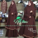 LYRA ORGANSA COKLAT by BE GLOW