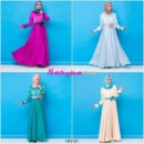 NN141 ( Dress + PASMINA )