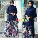 LAYLA VOL.2 NAVY by UMMAH