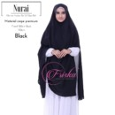 NURAI BLACK by Friska Hijab