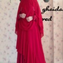 Ghaida dress RED