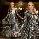 HASSA New party dress BLACK GOLD from Cynarra