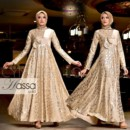 HASSA New party dress GOLD from Cynarra