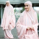 MUKENA POLKA Peach by ALGANI