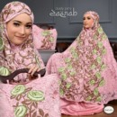 MUKENA ZAENAB DUSTY PINK BY NANBELLS