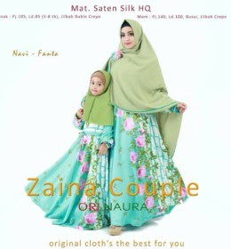 ZAINA COUPLE Green Mint by ORINAURA