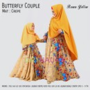 BUTTERFLY Brown Yellow by ORINAURA